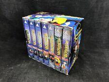 ALBATOR , coffret de 7 cassettes VHS en bon état