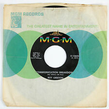 ROY ORBISON Communication Breakdown/Going Back To Gloria 7IN (1966) NM-