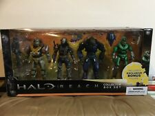 XBox HALO REACH COLLECTOR BOX SET 4 Pack JORGE EMILE ELITE MINOR SPARTAN MARK V