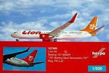 Herpa - 527989 B737-900er Lion air 70th B737