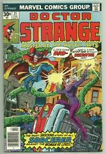 Marvel Comics Doctor Strange #21 1974 2nd Series Newsstand Edition FN/VF