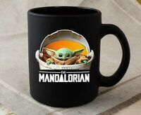 Baby Yoda Mug, Star Wars Mug, The Mandalorian TV Series Coffee Mug
