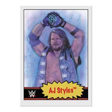 Wrestling Topps WWE Living Set - Card 55 - AJ Styles