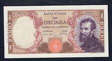 10000 lire MICHELANGELO 20 05 1966 SUP LOTTO 296