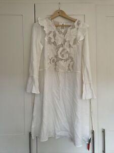 antik batik Cotton Dress M New Con