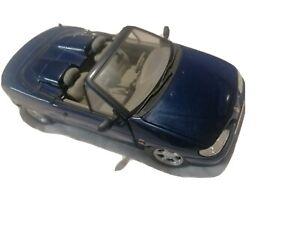 RENAULT MEGANE Cabriolet bleu 1/18 1/20 ANSON 30342 voiture miniature collection