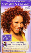 3 X Dark and Lovely Permanent Hair Colour Dye Red Hot 376