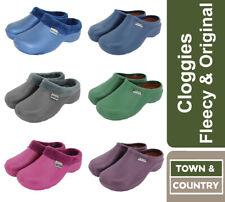 Town & Country Womens Super Soft Clogs Fleecy & Original Cloggies