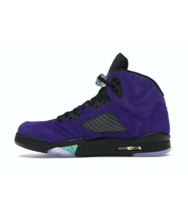Nike Air Jordan 5 Retro Alternate Grape 2020 Men size 11.5 (136027-500) NEW