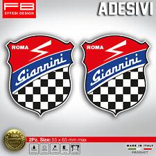 Adesivo Sticker Giannini Fiat 500 Old Tuning Abarth Giannini Corse Epoca Vintage