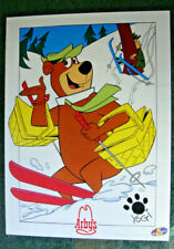 New ListingLot of 2 ©1993 Arby'S & Hanna Barbera Posters, Yogi on one, BooBoo on the other