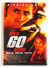 Gone in 60 Seconds Fridge Magnet (2.5 x 3.5 inches) movie poster
