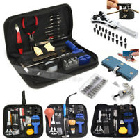 Watch Repair Tool Kit Remover Case Opener Link Spring Bar Back Pin Hand Band Set