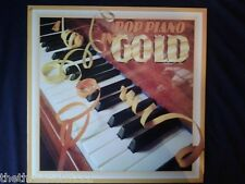 VINYL LP - POP PIANO IN GOLD COMPILATION - RDS9654