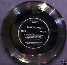 """Plasticland - they wore sequined...+2 EP 7inch 33"""" FLEXI"""
