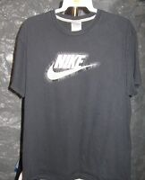 Nike Classic Black Vintage NIKE & LOGO XL T-Shirt