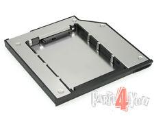 DELL Latitude E6510 E/Bay Ultra Slim HD Festplattenrahmen 2.HDD SSD SATA Adapter