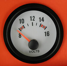 S3 52mm Volt Meter/Voltage gauge Blue bk-light Fiat Uno Punto Cupe Brava Bravo