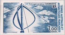 TAAF FSAT 1988 Maury 133 232 U 142 energia eolica impianto Darrieus vento Energy MNH