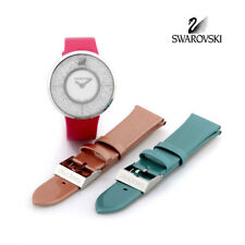Swarovski Crystal Watch Crystalline Set With 2 Replaceable Belts #5096698 New