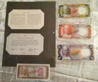 SIERRA LEONE COMPLETE 4 SPECIMEN 1978  002996 CS1 P4 - 7 UNC