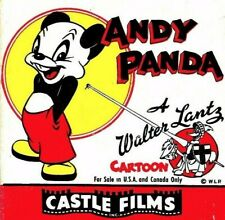 regular 8mm cartoon PAINTER & THE POINTER - Andy Panda from Walter Lantz Studios