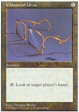 4x Glasses of Urza MTG Regular NM, English 5th Edition