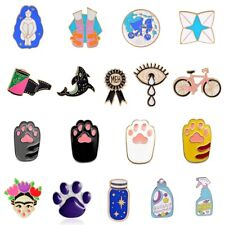 Lovely Cartoon Enamel Lapel Badge Collar Pin Corsage Brooch Pins Shirt Jewelry