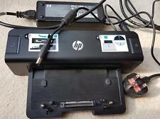 HP HSTNN-I11X Laptop Docking Station Port Replicator - A7E33 - 90W - with HP PSU