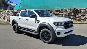 No Drill Flares Ford PX3 Ranger XL / XLS / XLT 09/18 + Matte Black Full Set