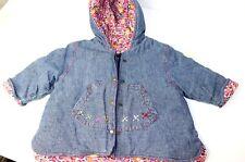 Catimini Girls Winter Coat Chambray 6M