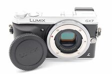 PANASONIC LUMIX DMC-GX7 16.0MP DIGITAL CAMERA SILVER BODY