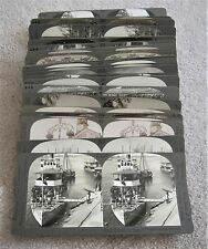 Stereoviews LARGE LOT 35 KEYSTONE View Co UNDERWOOD Stereographs ALL PICTURED
