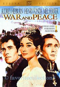 War and Peace (1956) - Audrey Hepburn, Henry Fonda (Region All)