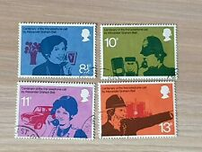 Great Britain 1976 Centenary of Telephone. 4 stamp set used sg:997/1000