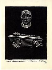 Die deutsche Künstlerin Käthe Kollwitz Das Proletariat: Kindersterben/Kopf 1930