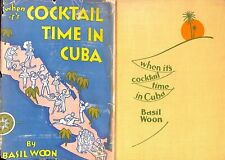 When It's Cocktail Time In Cuba by Basil Woon