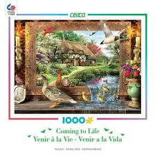 CEACO COMING TO LIFE PUZZLE STILL TO LIFE DOMINIC DAVISON 1000 PCS #3382-3