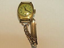 RARE VINTAGE WESTCLOX WRISTWATCH GOLD TONE NON WORKING FOR PARTS OR TO RESTORE
