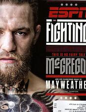 ESPN Magazine - Aug 21, 2017 - Mayweather, McGregor, The Fighting Issue, Tyson