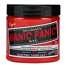 Manic Panic Classic Hair Dye Color Electric Tiger Lily Vegan 118ml Manic-Panic
