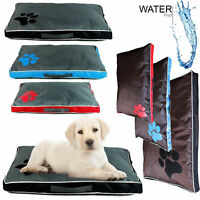 DOUBLE SIDED WATERPROOF DOG PET CAT BED MAT SOFT WARM CUSHION MATTRESS WASHABLE
