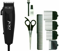 Wahl 100 Series Mens Hair Clipper Trimmer 10 Piece Set Corded Hair Cutting set !