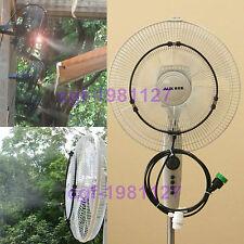 Low Pressure Fan Misting System Slip Lok kit 13ft - 3 Brass Nozzles - DIY kit