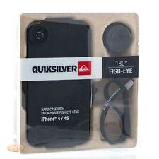 QUIKSILVER Coque quiksilver pour iPhone 4/S  - Noir Coque avec lentille fish-eye