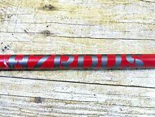 "â›³Vgucâ›³ Hzrdus Project X 5.5 Red Hand Crafted 62gm .350 Tip R Flex Shaft 41 6/8"""