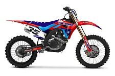 Slain Honda Graphics Factory Backing MX CR85 03-12