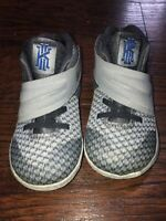 Nike Kyrie 2 (TD) Toddler's Infant kid Shoes Wolf Grey Blue 827281-004 Size 7C