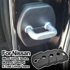 4Pcs Door Lock Cover  Cap Buckle For Nissan Series Renault Koleos Infiniti Ex