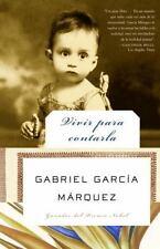 Vivir para contarla (Spanish Edition), Garcia Marquez, Acceptable Book
